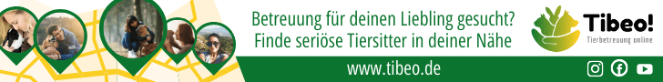 Tibeo Tierbetreuung Banner schmal Tierhalter