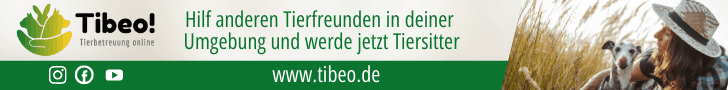 Tibeo Tierbetreuung Banner schmal Tiersitter