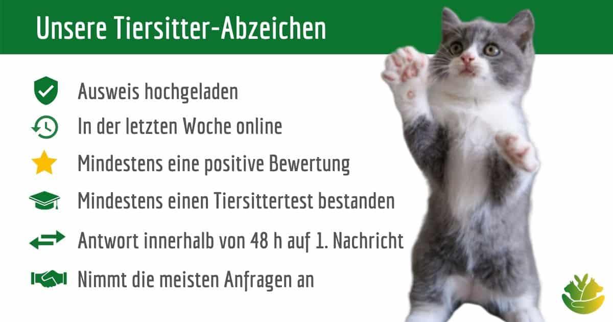Facebook Tiersitter Abzeichen
